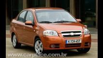 Chevrolet começa a vender o sedan Aveo na Argentina por R$ 33 mil