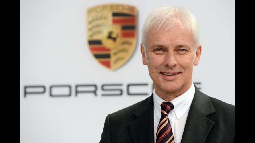 Porsche CEO'su Mueller, Volkswagen'in Başına Geçiyor