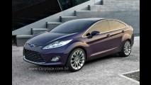 Novo Ford Fiesta Sedan 2009? Ford apresenta conceito Verve Sedan