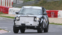 2013 Range Rover spied on the ring 18.08.2011