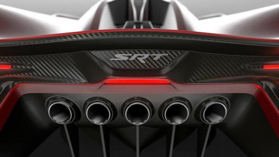 SRT Tomahawk Vision Gran Turismo teased [video]