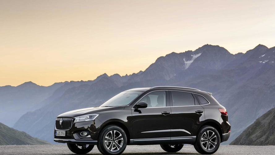Borgward BX7 first offical image hits the web