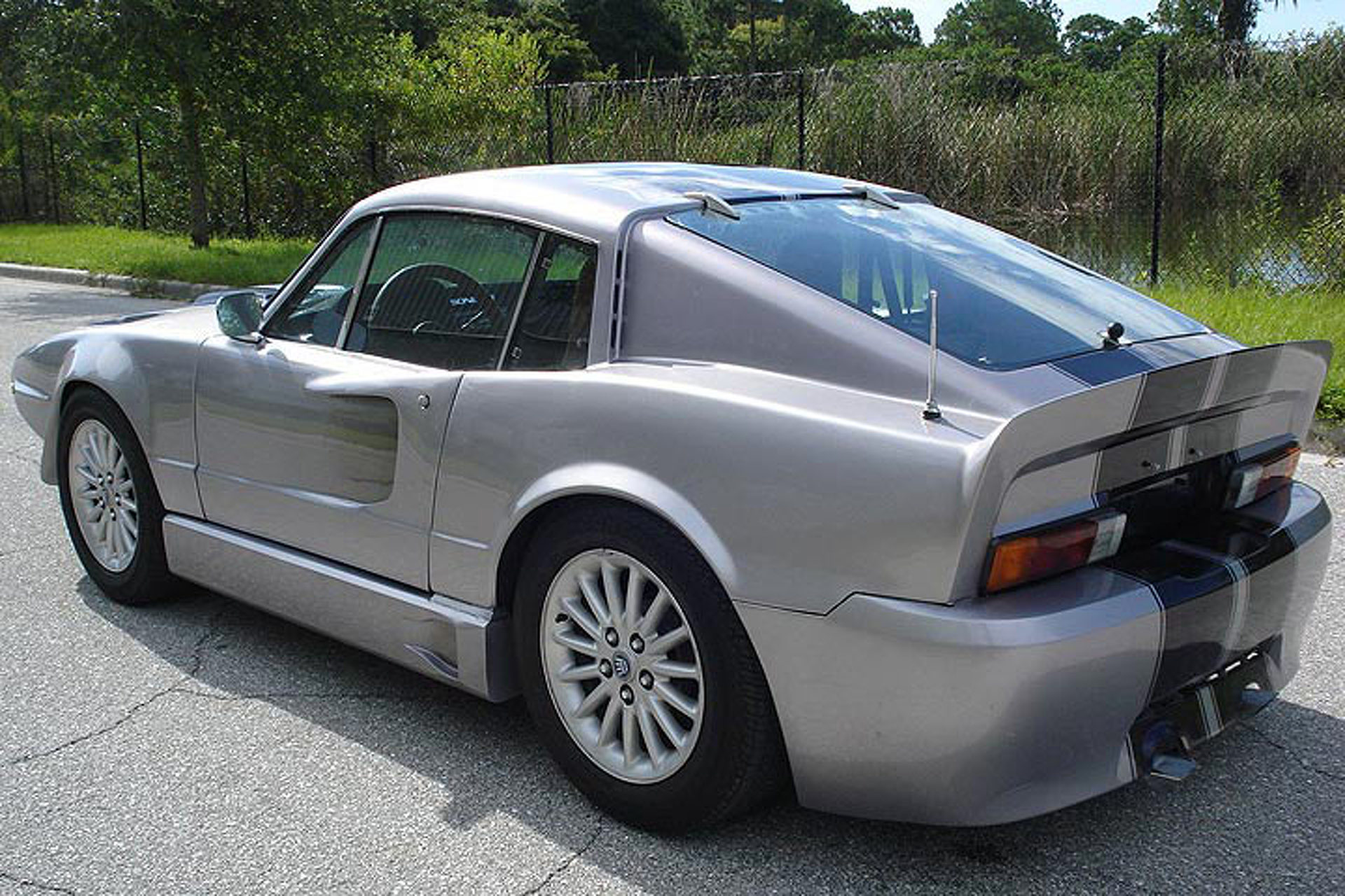 "This Saab Really, Really Wants to Be an ""Eleanor"" Ford Mustang"