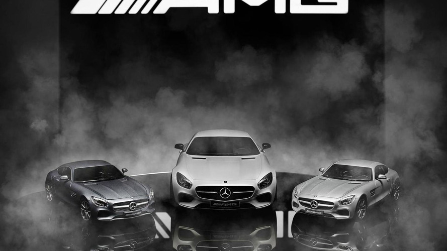 Mercedes-AMG GT scale models revealed, prices start at €34.90