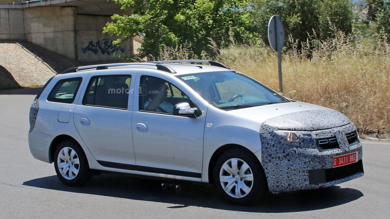 2017 dacia logan mcv facelift spy photo dacia photos. Black Bedroom Furniture Sets. Home Design Ideas