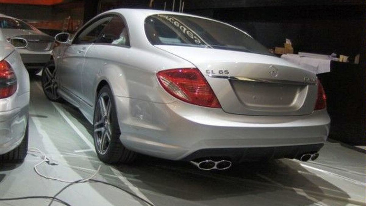 Mercedes CL65 AMG