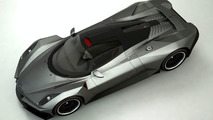 Student Design: 3D rendered Russian supercar impresses