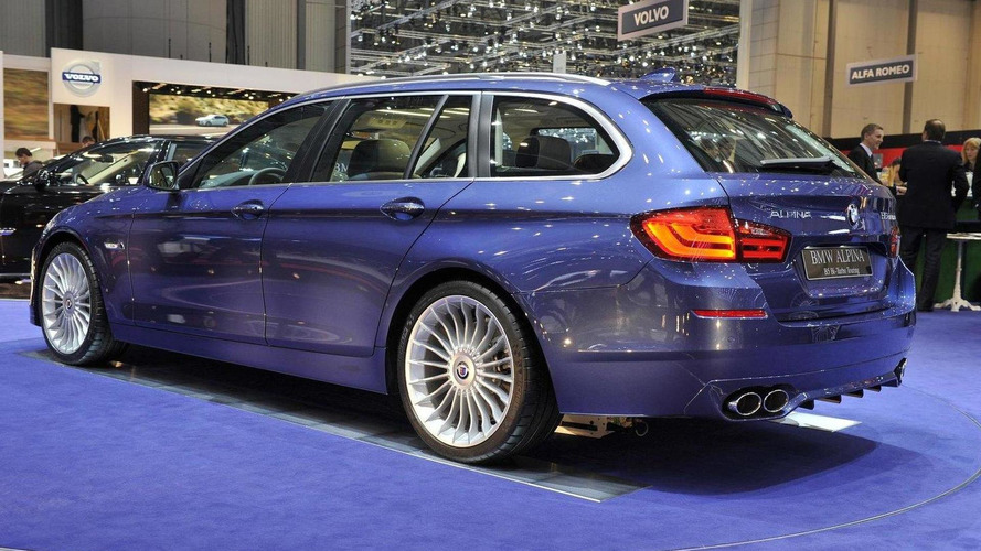 Alpina B5 Bi-Turbo Touring at Geneva
