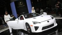 Lexus LFA live at Geneva Motor Show
