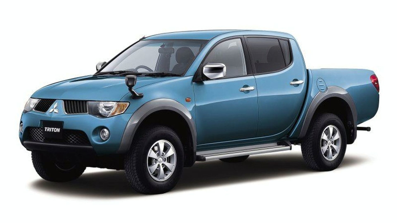 Mitsubishi Triton urban sports pickup