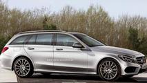 Mercedes-Benz C-Class Estate render