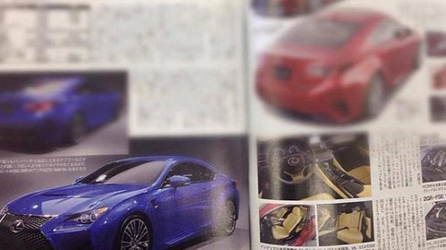 2015 Lexus RC F leaked?