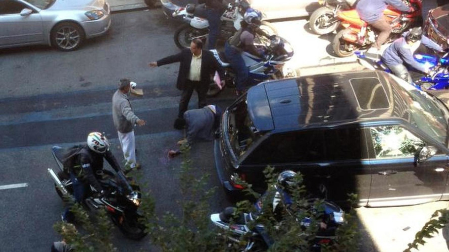 Biker charged in NYC Range Rover attack incident [video]