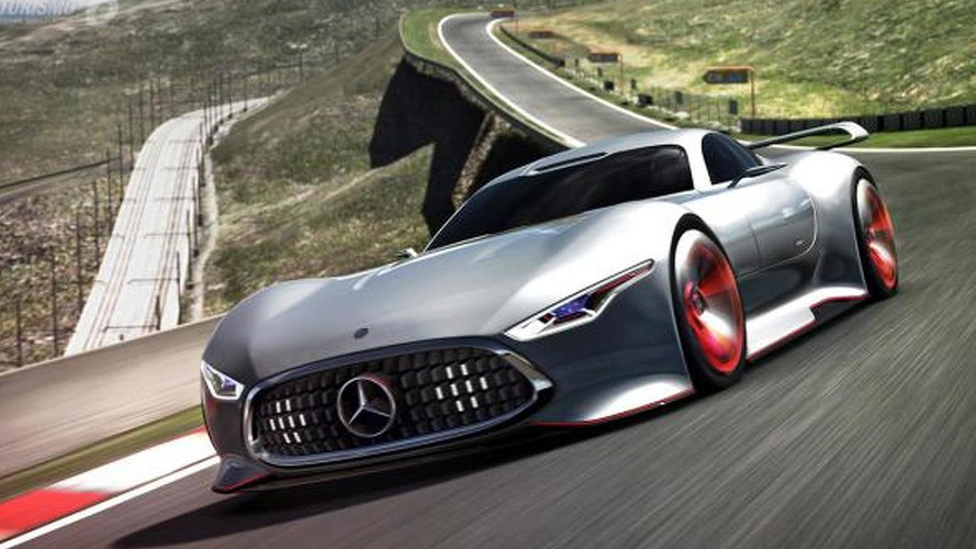 Mercedes-Benz AMG Vision Gran Turismo Racing Series revealed