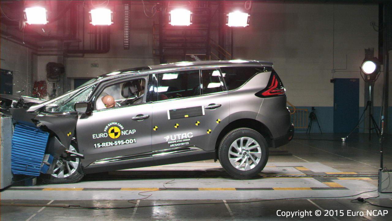 Crash test Renault Espace