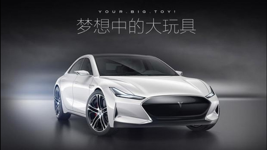 Tesla Model S, è pioggia di cloni cinesi [VIDEO]