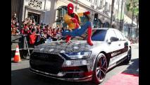 La nuova Audi A8 sul red carpet di Spiderman: Homecoming