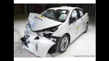 Crash Test Toyota Prius 2016