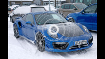 Porsche 911 GT2, le foto spia