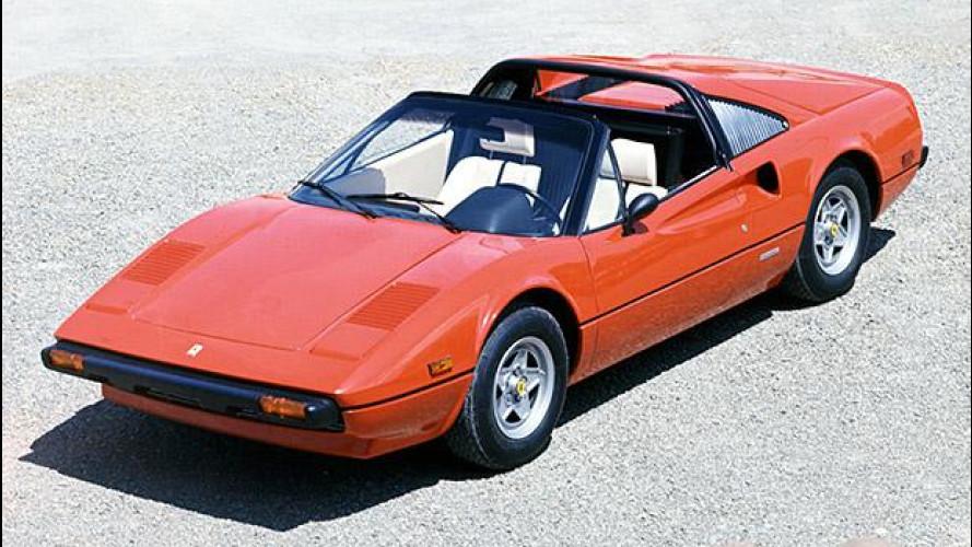 Ferrari scoperte, dalla 308 GTS alla 488 Spider