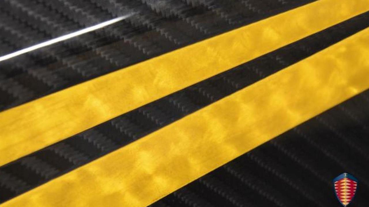 Koenigsegg teaser photo