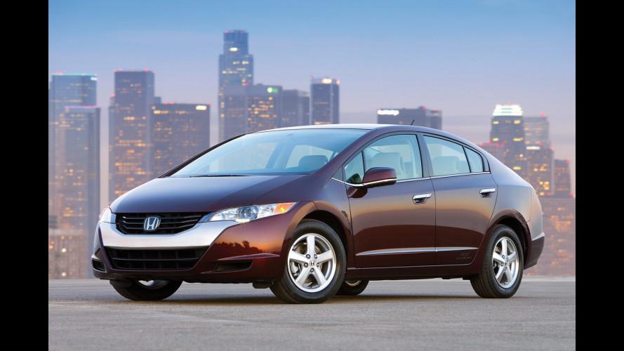 FCX Clarity, l'auto a idrogeno di Honda