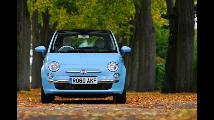 """La Fiat 500 è """"Best City Car"""" in UK"""
