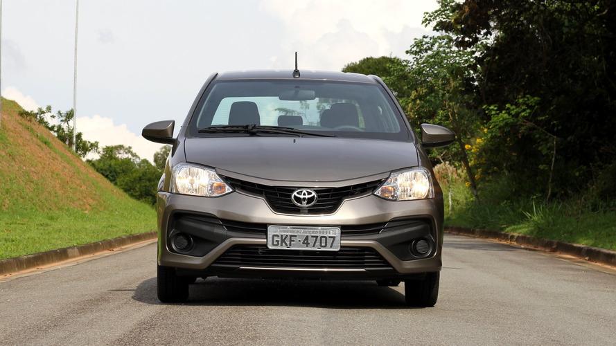 Toyota Etios 2018 é lançado na Argentina pelo equivalente a R$ 48,2 mil