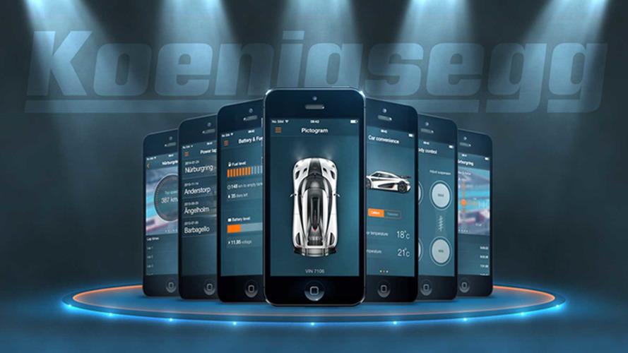 Koenigsegg application mobile