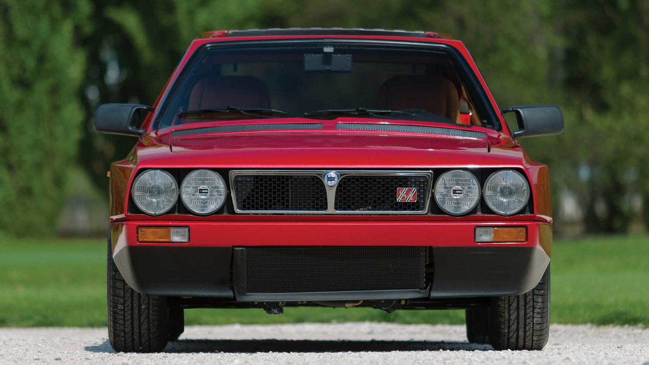 Exquisite Lancia Delta S4 Stradale Has Low Mileage High