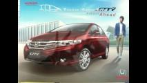 Honda City: Vazam primeiros catálogos da reestilização do sedã compacto na Ásia