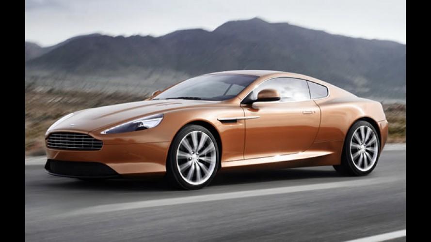 Novo Aston Martin Virage: Vídeo e fotos revelam detalhes