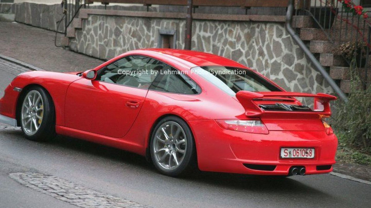 New Porsche GT3 Undisguised in Stuttgart
