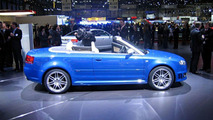 Audi RS 4 Cabriolet at Geneva