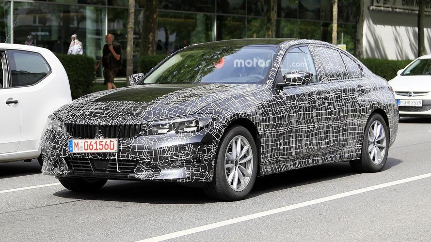 Nuova BMW Serie 3, le foto spia