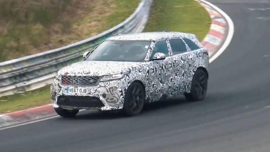 VIDÉO - Le Range Rover Velar SVR sur le circuit du Nürburgring