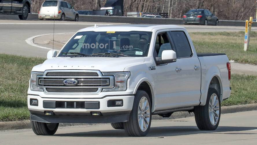 2019 ford f 150 limited spy photos photos. Black Bedroom Furniture Sets. Home Design Ideas