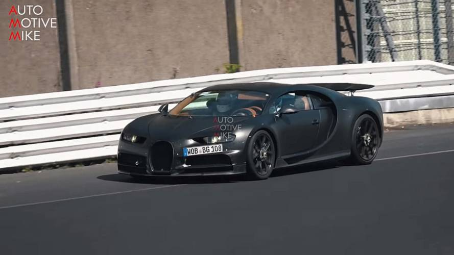 Why Is Bugatti Testing Two Chirons At The Nurburgring?