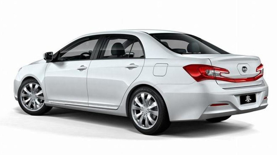 BYD Qin announced - replaces the F3DM