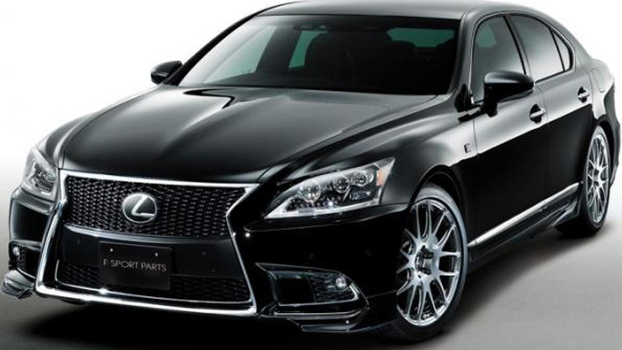 2013 lexus ls 460 f sport with trd body kit. Black Bedroom Furniture Sets. Home Design Ideas