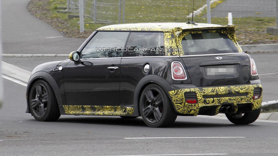 MINI Cooper JCW GP II spied for the first time