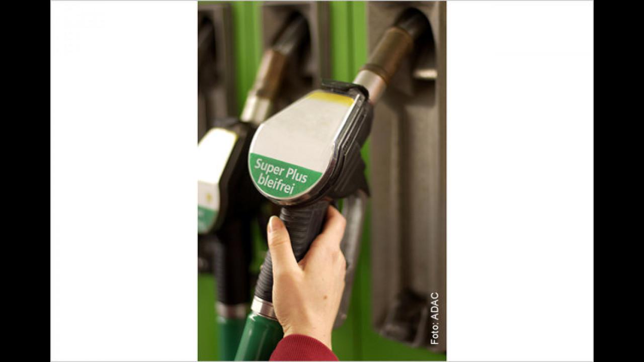 Die Kraftstoffart wechseln?