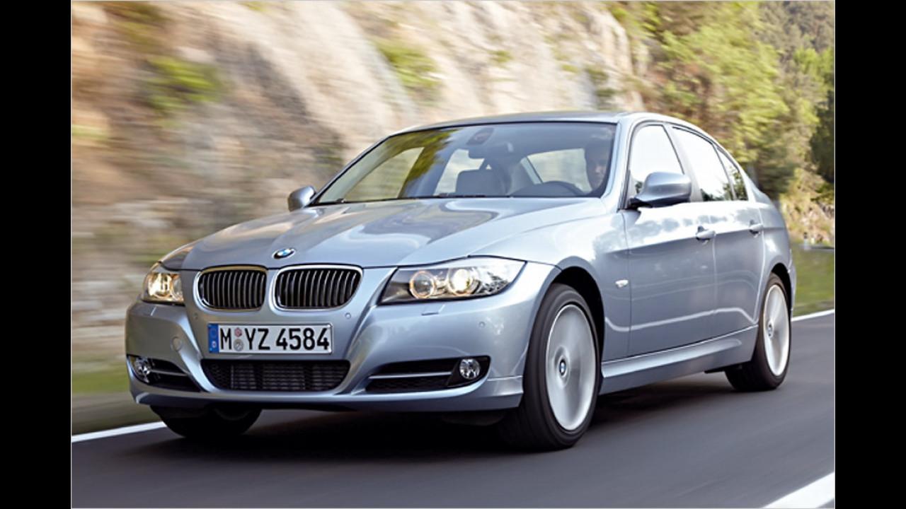 Mittelklasse, 100.001 bis 150.000 Kilometer: BMW 3er (2011)