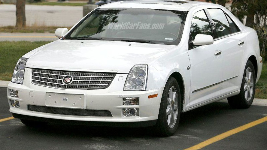 SPY PHOTOS: More Cadillac STS Facelift