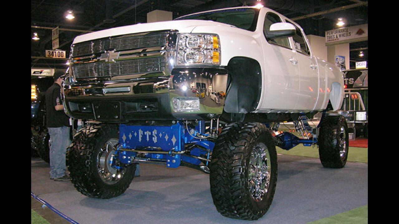 Hoch und mit 6,6-Liter-Diesel: Ein Chevrolet Silverado von FTS