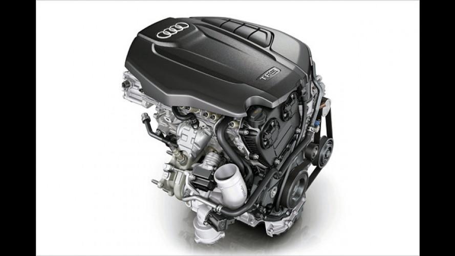 Audi 1.8 TFSI: Überarbeiteter Einstiegs-Benziner