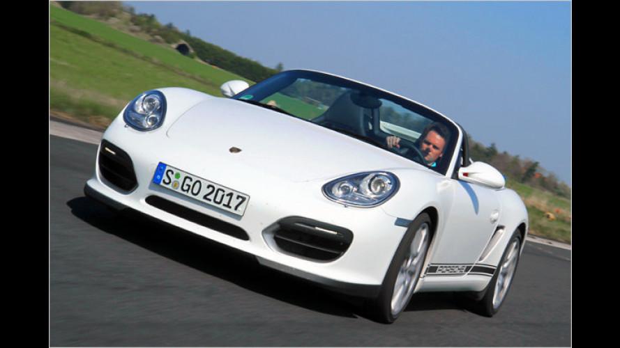 Schönwetter-Porsche: Der Boxster Spyder im Test