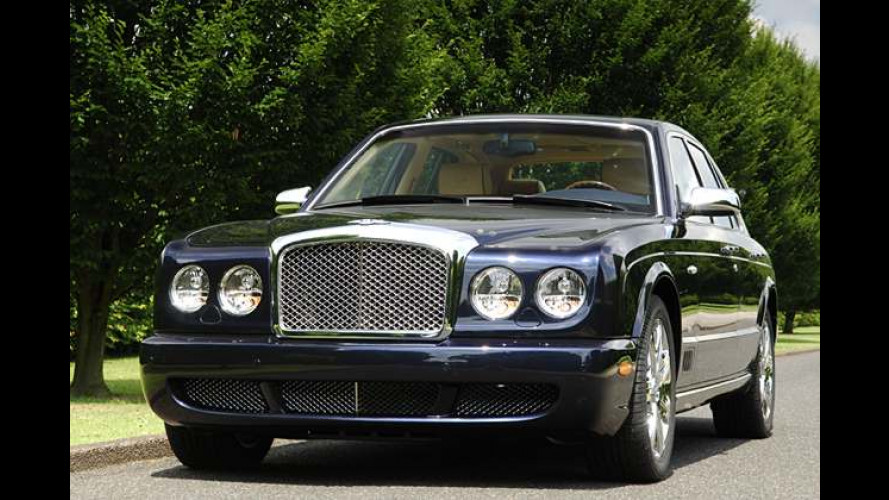 Bentley Arnage kommt als Sondermodell Blue Train