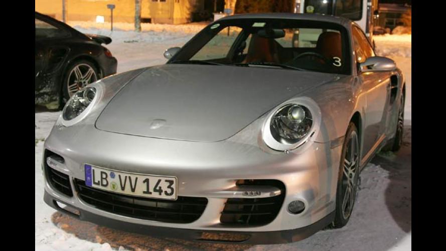 Erwischt: Porsche 911 Turbo, Mercedes CL und CL AMG
