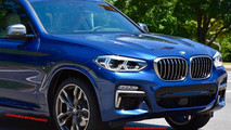 Photos espion BMW X3 M40i 2018
